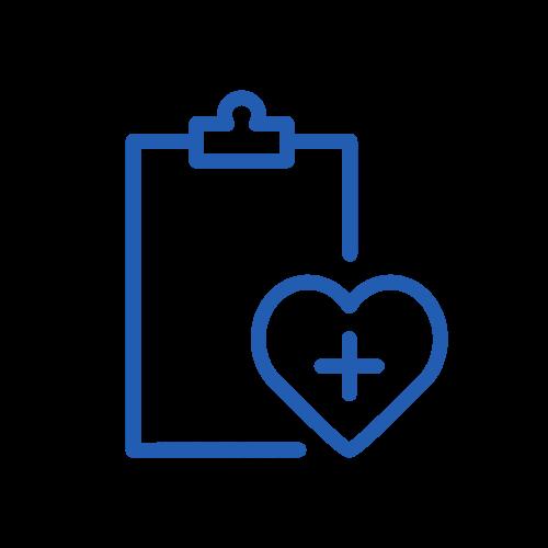 granatowa ikona - diagnoza