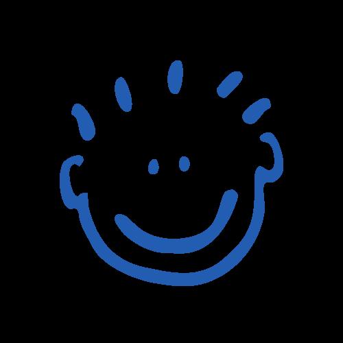 Ikona - uśmiechnięte dziecko